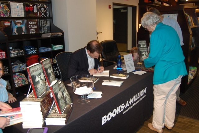 Stephen Russell at Books-a-Million book signing