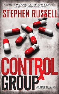 Control Group is a suspense novel about the immense power of Pharmaceutical Companies